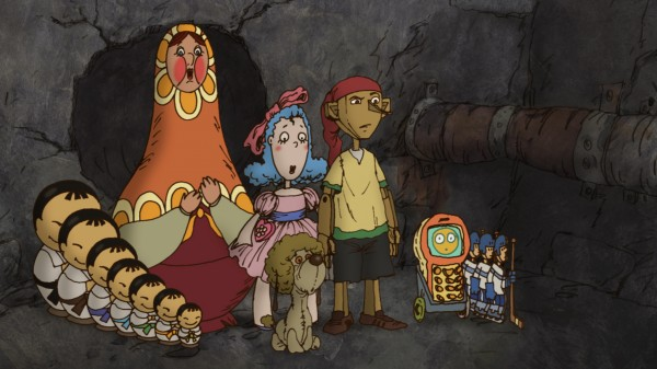 Матрена и ее японские дети – часть команды Буратино