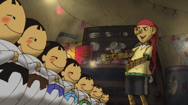 Буратино: «Ну прямо семь самураев!»