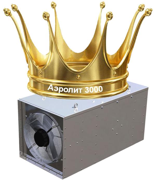 Аэролит-3000 - это царь среди рециркуляторов воздуха
