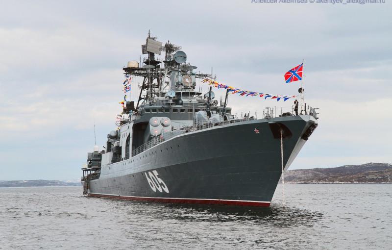 "БПК ""Адмирал Левченко"". Фото - А.Акентьев."