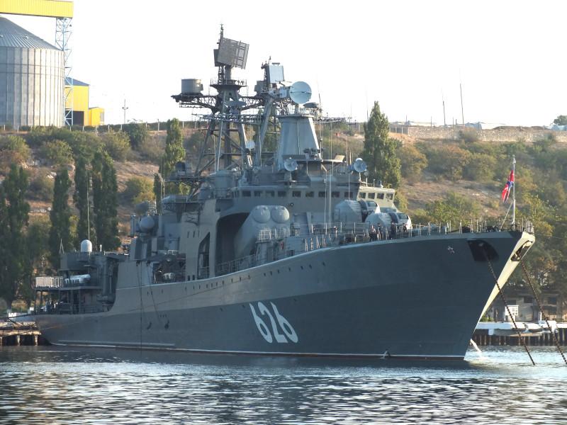 "БПК ""Вице-адмирал Кулаков"". Фото - А.Балабин."