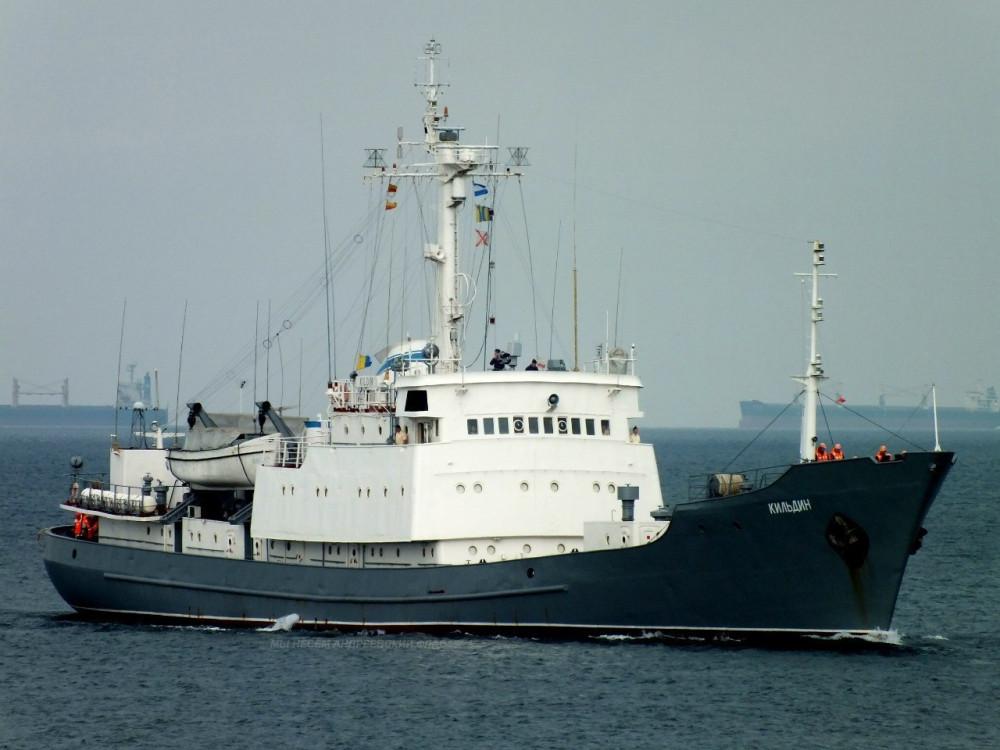 Разведывательный корабль для ВМС Украины, достраивающийся в Одессе, впервые вышел в море для ходовых испытаний - Цензор.НЕТ 7925