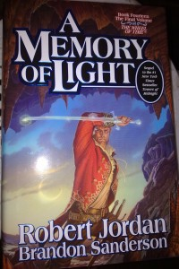 A Memory of Light cover