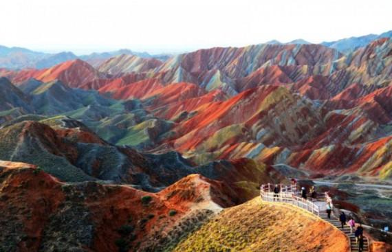 Радужная гора Китая