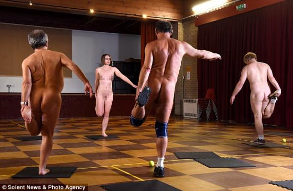 Теперь на фитнес можно приходить голышом