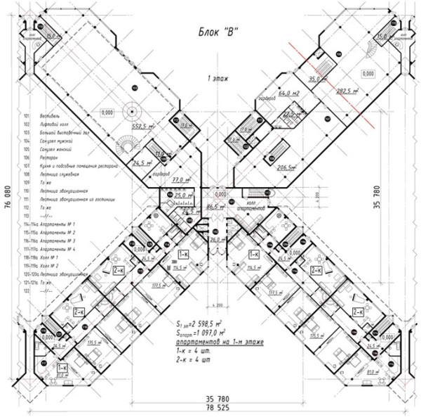 012-Блок-Б-первый-этаж