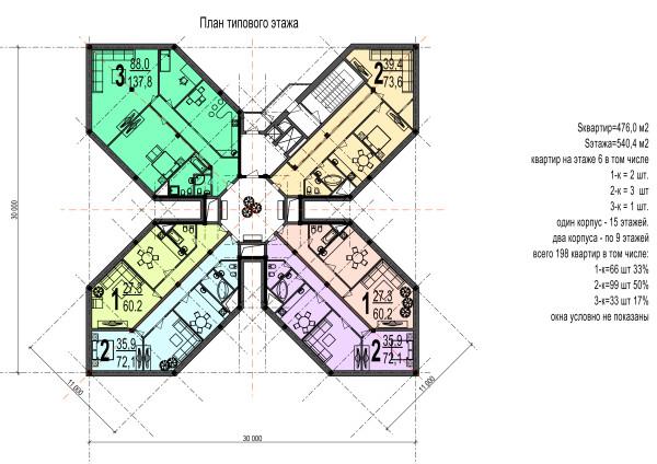 05 план типового этажа