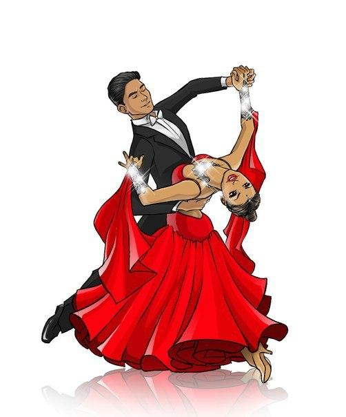 Бальные танцы открытки, какой