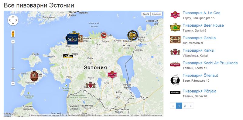 Эстонское Пиво