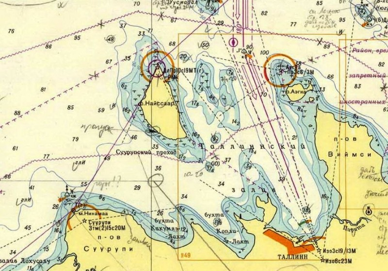 Из Таллина на Финский берег на яхте Milda