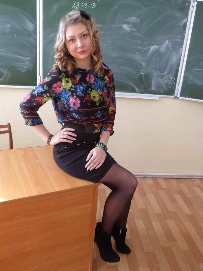 Фото под юбкой училок