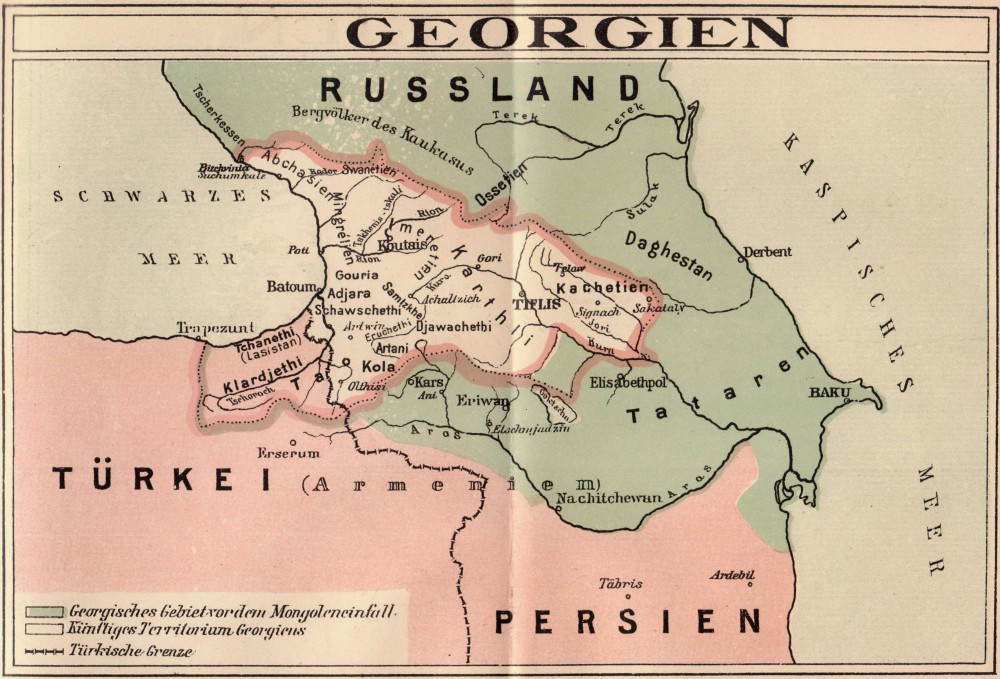 Georgien_1918_Deutsch
