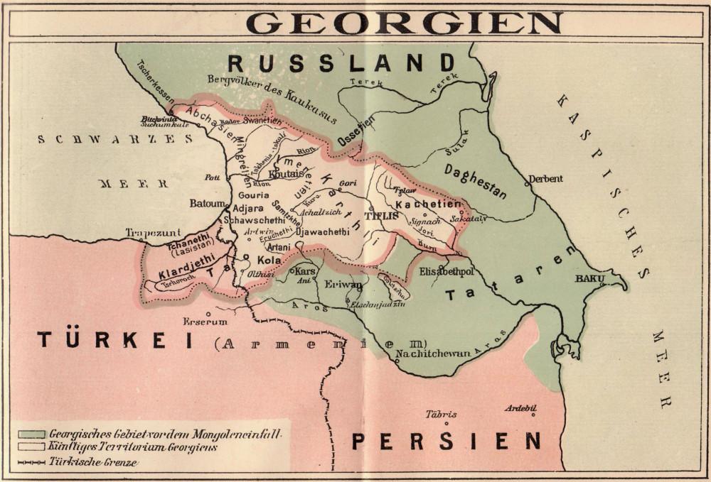 Georgien_1918_Deutsch
