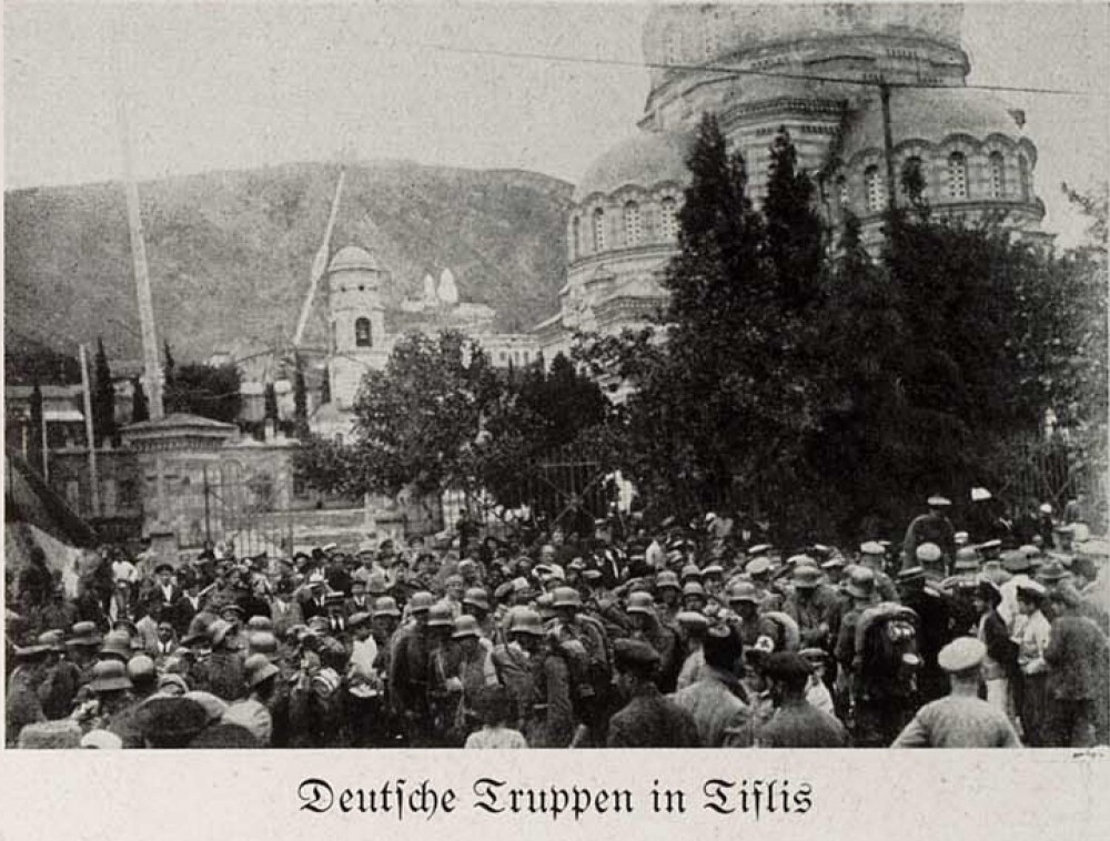 Deutsche Truppen in Tiflis