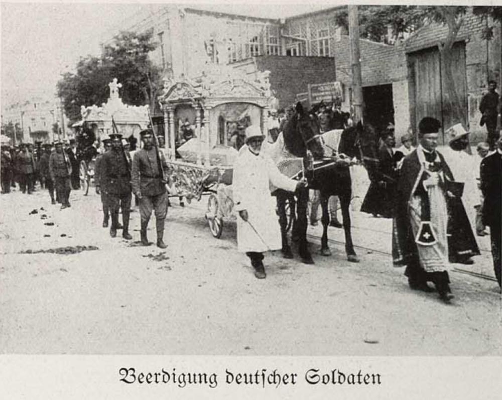 Beerdigung D Soldaten