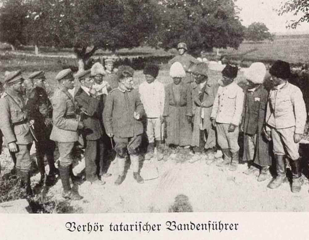 Tatarische Bandenfuehrer