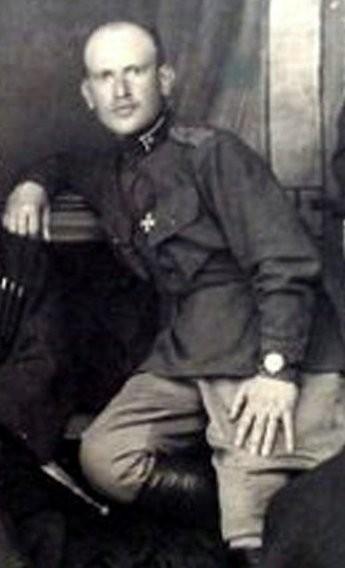 Georgian officer 1921