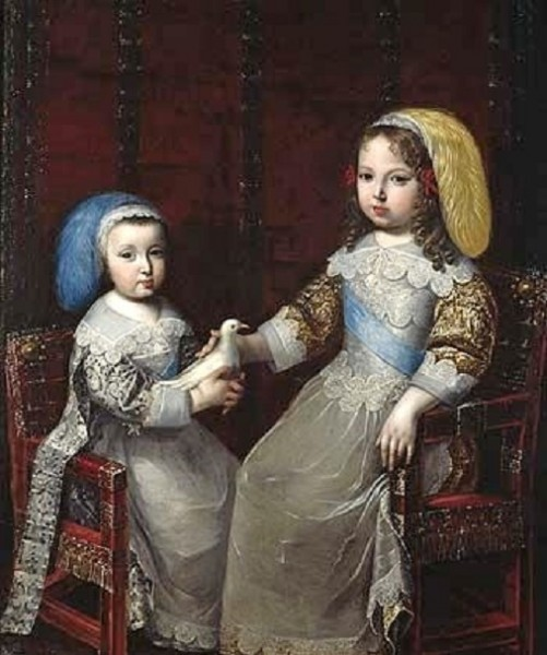 King_Louis_XIV_and_his_brother_Philippe_of_France,_Duke_of_Anjou_(Charles_Beaubrun)