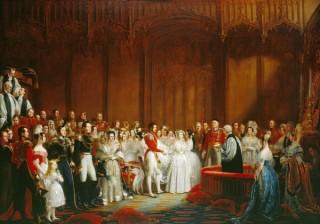 2. Джордж Хейтер. Венчание королевы Виктории и принца Альберта
