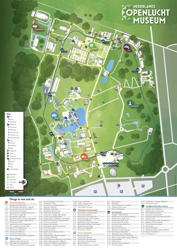 Map Openluchtmuseum