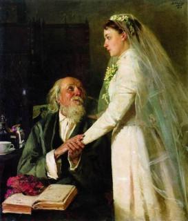 11. Владимир Маковский. К венцу (прощание)