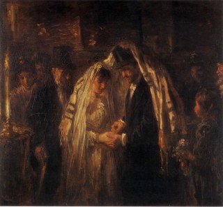 Йозеф Израэльс. Еврейская свадьба