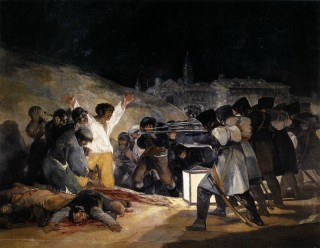 15. Гойя The Third of May, 1808: The Execution of the Defenders of Madrid