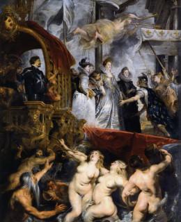 16. Рубенс. The Landing of Marie de Médicis at Marseilles