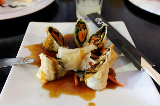 Горячие суши