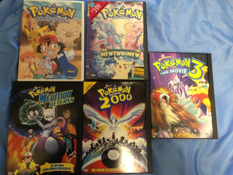 Intro + First Yard Sale Gets of the Season!: pkmncollectors Pokemon Mewtwo Returns Dvd