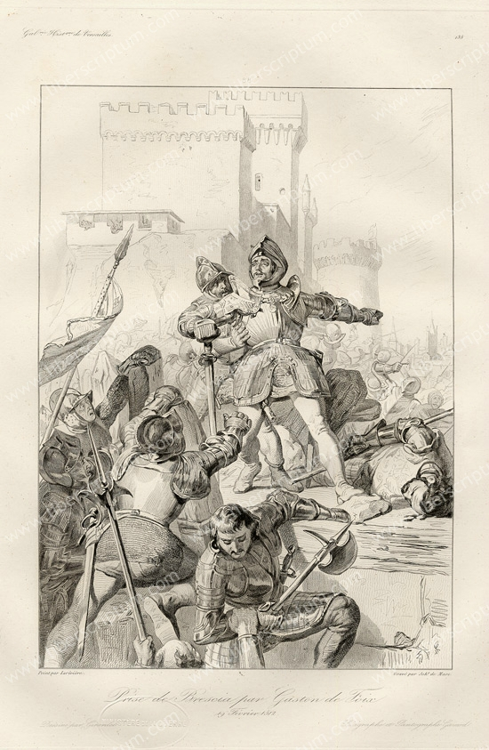 Prise de Brescia Gaston de Foix. Gravure.jpg