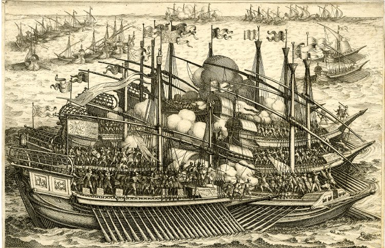Attack Of the Galley of Ferdinand I Upon the Galley Of the Turks 2