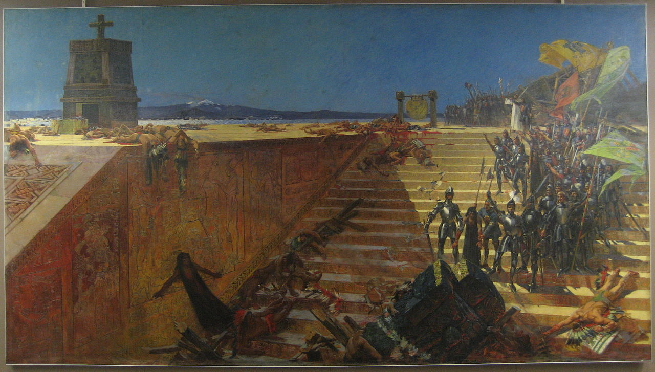 Last Days of Tenochtitlan (William de Leftwich Dodge, 1899)
