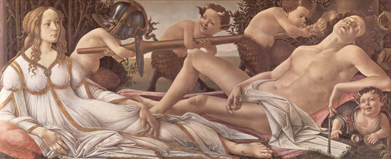 Сандро Боттичелли-Венера и Марс