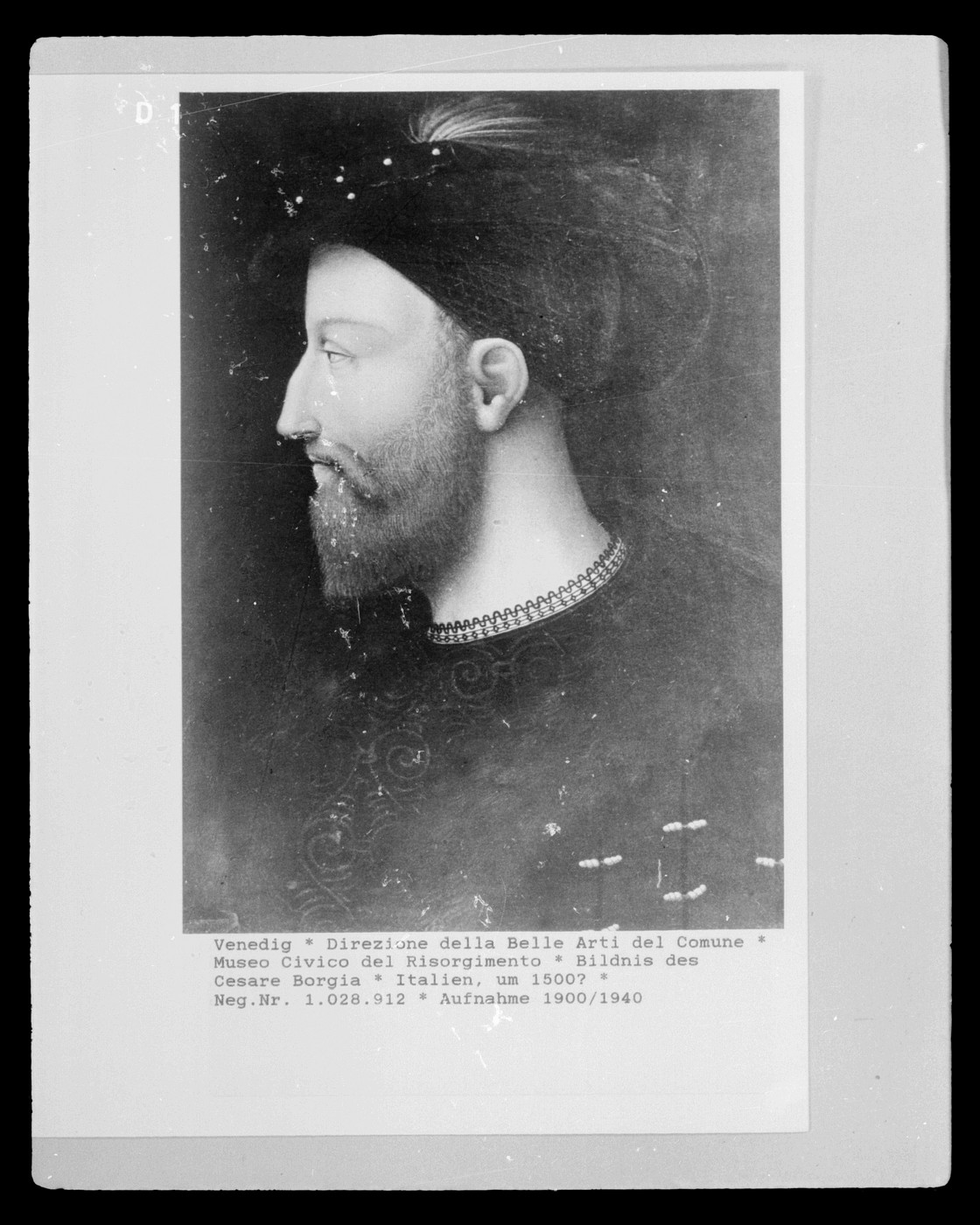 Фальшивый портрет Чезаре Борджа (Франсиско Пескара)