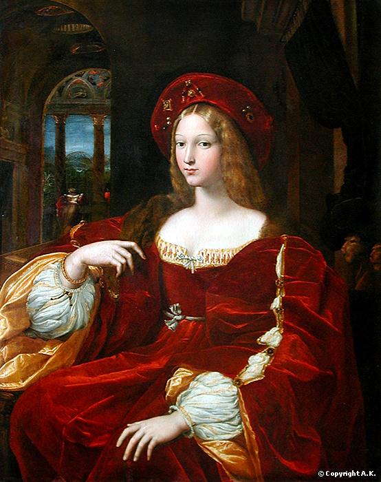Ложный портрет Джованны д'Арагона (Изабелла Рекесенс)