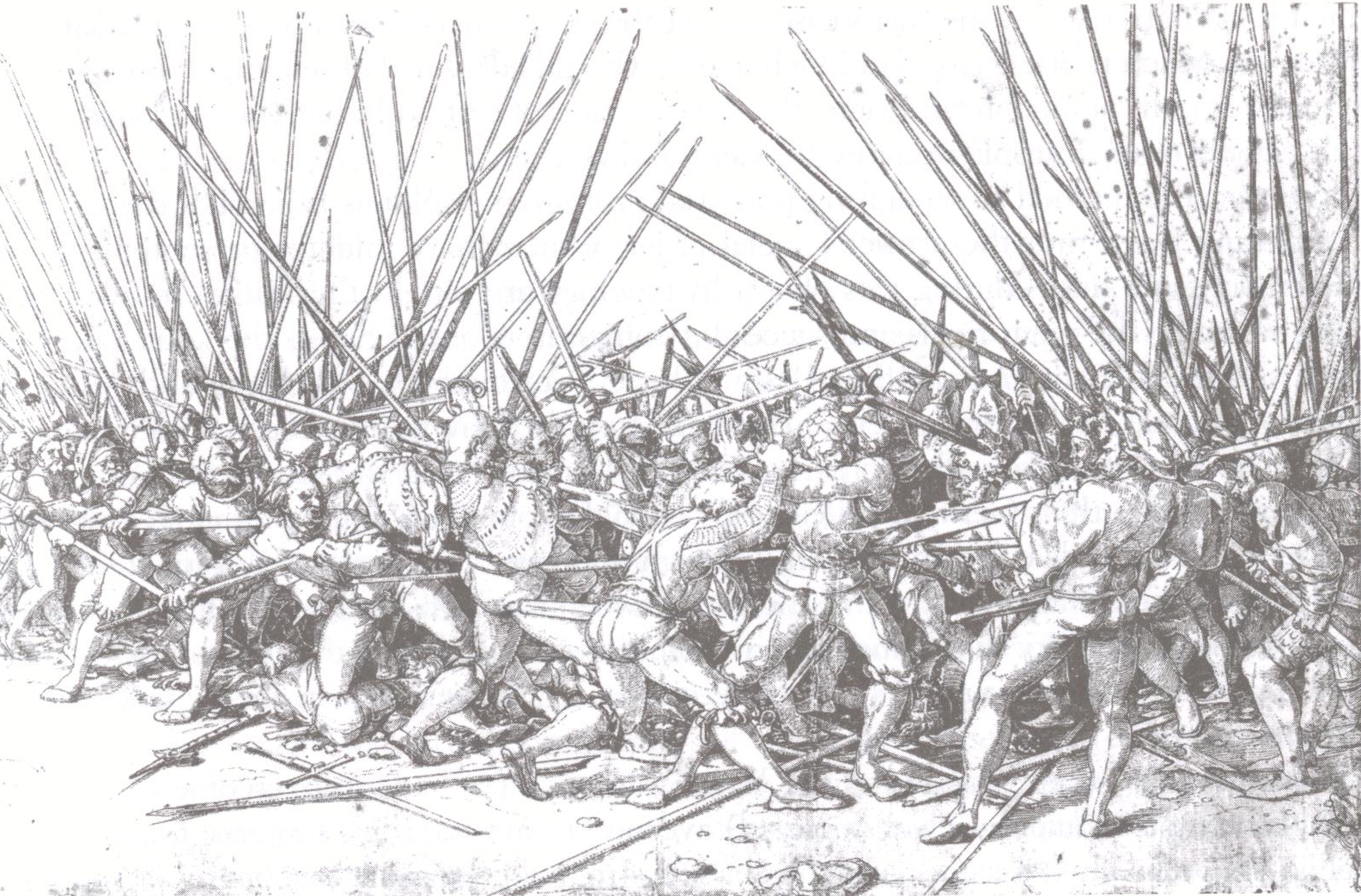 Сражение пехотинцев