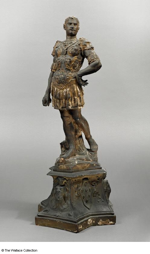 Giovanni Bastianini. Statuette of Giovanni delle Bande Nere