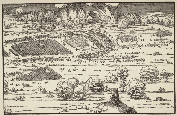 Siege of a Citadel II Дюрер, 1527