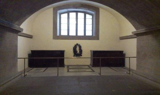 Crypt inside Medici Chapel