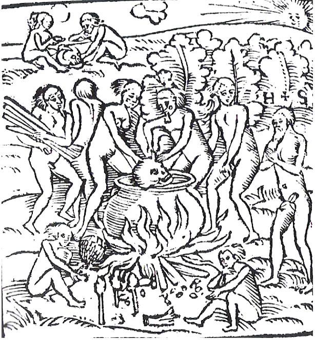 Тупинамба-каннибалы