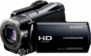 sony hdr xr-550 camera
