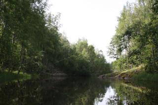 Протока за островом