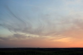 Закат в Воронежской области (вид с другой стороны)