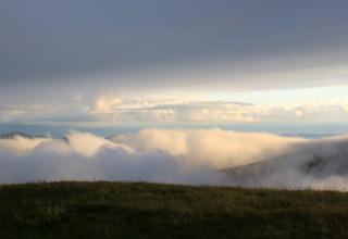 Вечерние облака после дождя