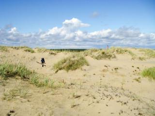 Волок через дюны