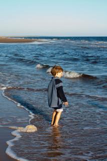 Синий Лёнь в синем море