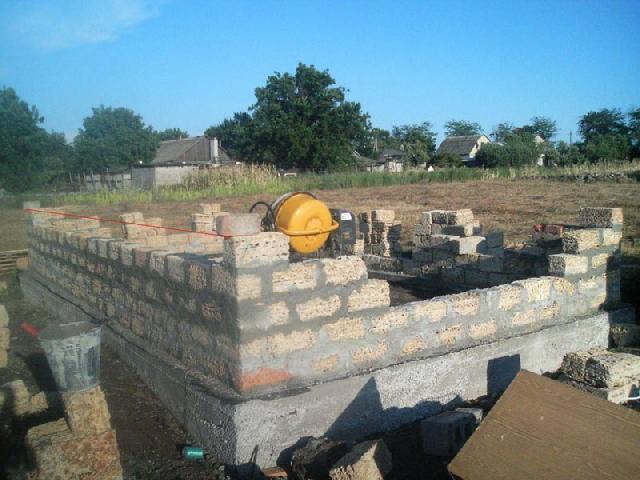 Строительство дома из бруса своими руками без