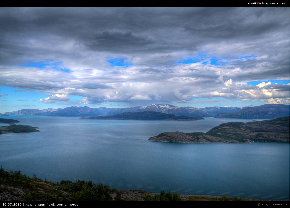 kvænangen fjord, troms, norge * part 3