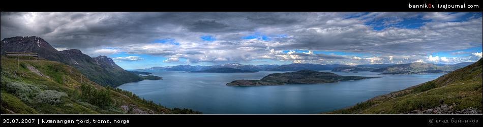 kvænangen fjord, troms, norge * preview